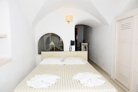 Apartment in the luxury hotel, Santorini island, Greece