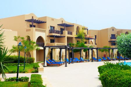 The arabic style villas in luxury hotel, Fujairah, UAE