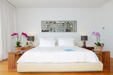 Interior of the luxury villa, Crete, Greece