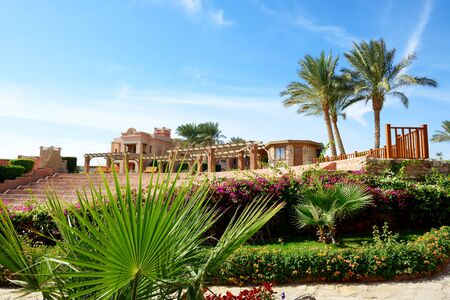 sharm: The recreation area of luxury hotel, Sharm el Sheikh, Egypt