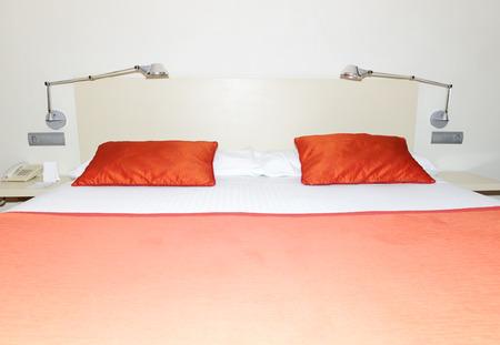 dorada: The bedroom in hotel, Costa Dorada, Spain