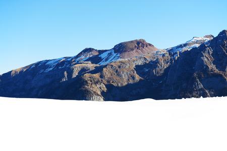 madonna: The view on Dolomiti mountains and ski slope, Madonna di Campiglio, Italy Stock Photo