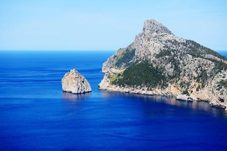 mallorca: The Cape Formentor in Mallorca island, Spain