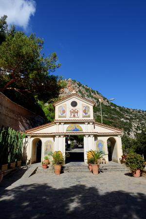 The Orthodox church in Crete island, Greece
