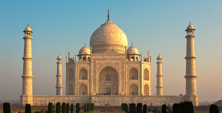 The Taj Mahal Stock Photo
