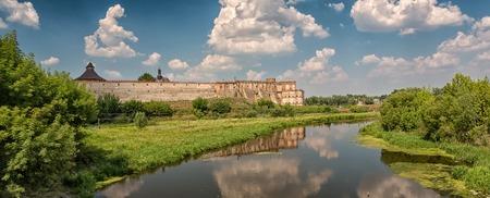 siege: Old castle in Medzhybizh, Ukraine Stock Photo