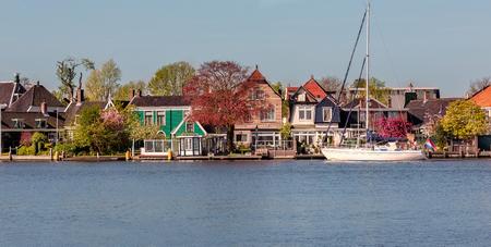Zaanse Schans Holland Stock Photo