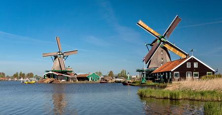zaandam: Zaanse Schans Holland Stock Photo