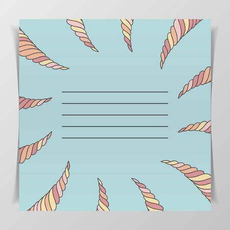 notebook cover: Notebook Cover with Place for Your Text. Template, ready to Print on Birthday Postcard, Greeting Card, Wedding Invitation, etc