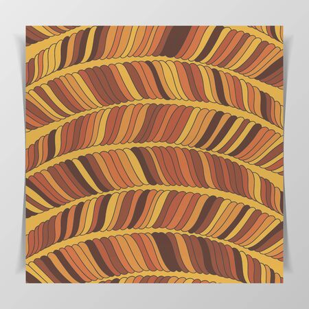 brown pattern: Striped wave brown Pattern, ready for Your Design