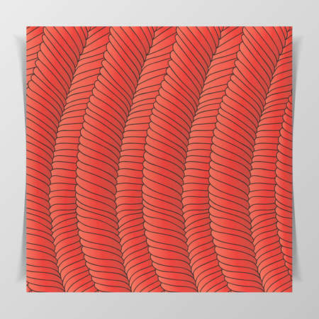notebook cover: Muscle Tissue Pattern for Biology Illustration or Notebook Cover