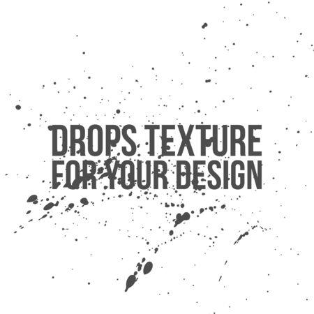 ink drops: Ink Drops Texture. Vector Splatter Background for Your Design