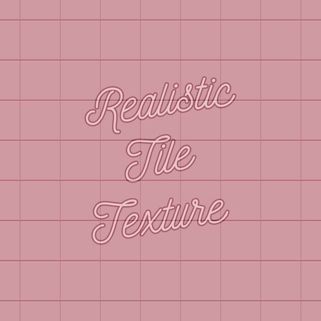Realistic Pink Tile Texture Use In Your Design Like A Background For Floor Or Wall