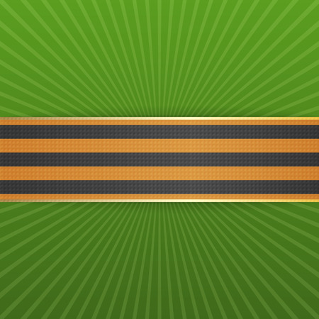 george: Victory Day St. George striped Ribbon. May 9. Vector Illustration