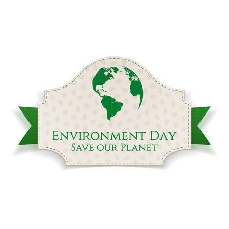 Große Realistische Feiertags-Fahnen-Schablone Des Earth Day Und ...