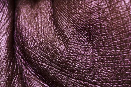 creasy: Creasy purple painted Palm Skin