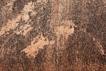 smeared: Shiny golden Cosmetics smeared on Surface Stock Photo