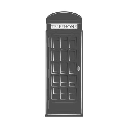 phonebooth: London Phone Booth in graphic Style