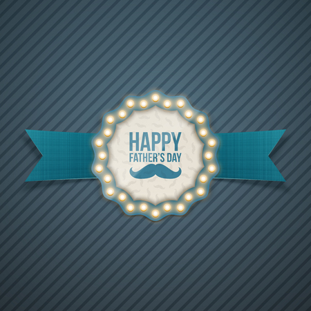festivity: Fathers day greeting Card Design