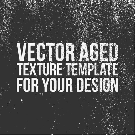 Vector aged Texture Template