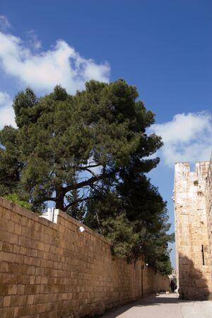 Jerusalem, inside the Old City,Jerusalem Stock Photo