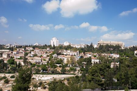 View of Jerusalem from old city. Stock Photo - 19746913
