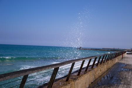Sea beach waves Stock Photo