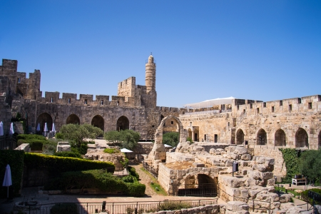 David Tower .The Old City Jerusalem.Israel Stock Photo - 20939904