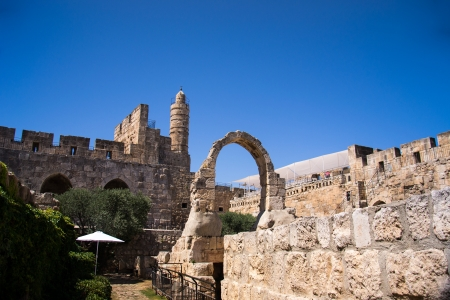 David Tower .The Old City Jerusalem.Israel Stock Photo - 20939907