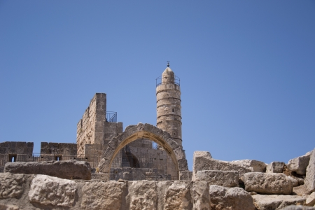 Tower Of David, in Jerusalem old city Stock Photo - 20939914