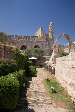 Tower Of David, in Jerusalem old city Stock Photo - 20939915