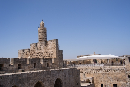Tower Of David, in Jerusalem old city Stock Photo - 20939919