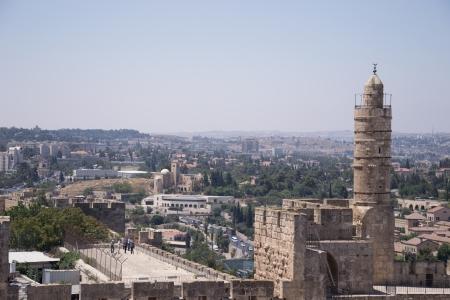 Tower Of David, in Jerusalem old city Stock Photo - 20939920