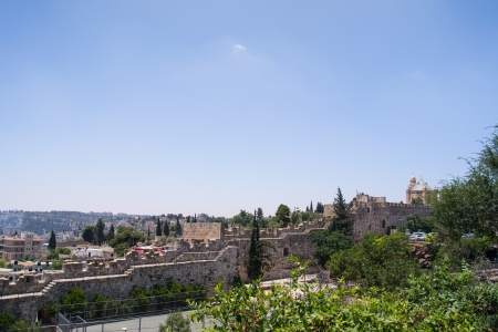 View of the wall.Jerusalem old city