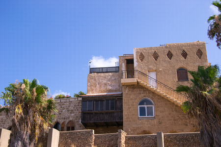 Old stone house .Historic part of Yaffo