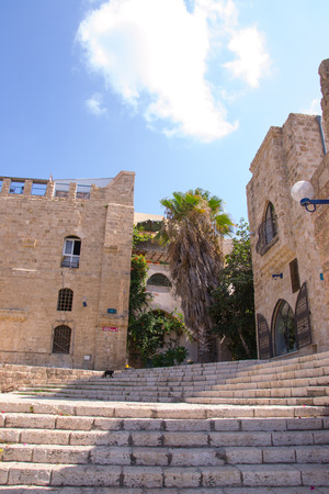 yaffo: Old stone houses .Historic part of Yaffo Editorial