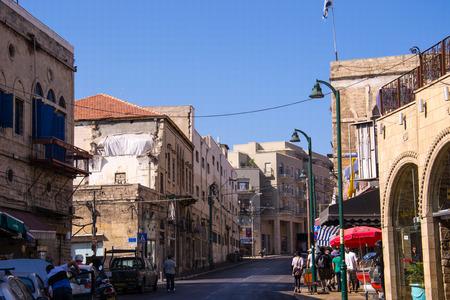 Street in South Tel Aviv,Jaffa,Israel Editorial