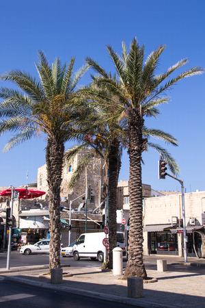 Street in South Tel Aviv,Israel Editorial