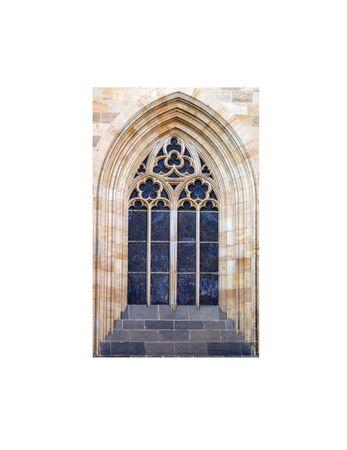 gothic castle: stone(3).jpg Stock Photo