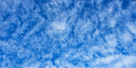 Altocumulus cloudscape texture photo