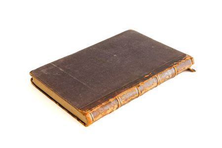 Antique book isolated on white background Stock Photo - 5220804