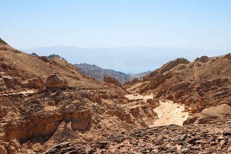 Rocky desert landscape  photo