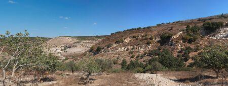 nahal: Mediterranean hills landscape