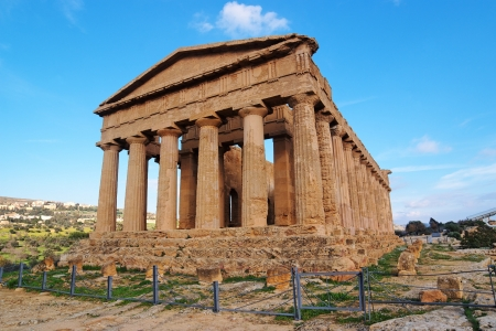 Concordia temple in Agrigento, Sicily, Italy Stock Photo - 13600690