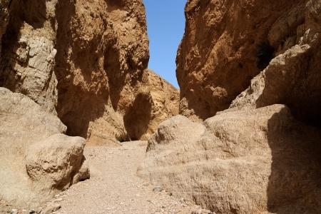 weathering: Orange desert canyon