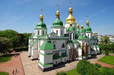 St. Sophia Cathedral in Kiev, Ukraine photo