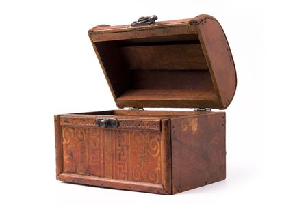 stash: wood box