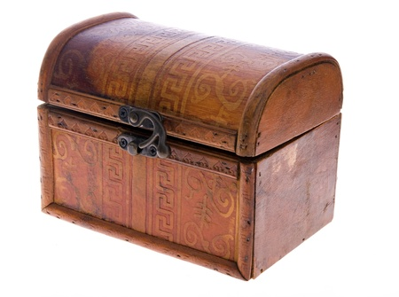 wood box isolated on a white background Stock Photo - 8443364