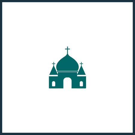 church simple icon. church vector icon