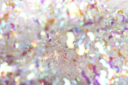 Abstract blurred bright beautiful glitter background. Pastel and gentle colors. Bright and colorful background.